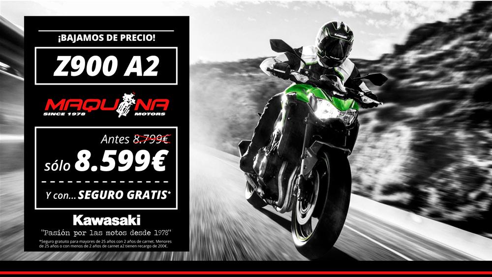 ¡Bajamos de precio! Gran Descuento en la Kawasaki Z900 A2