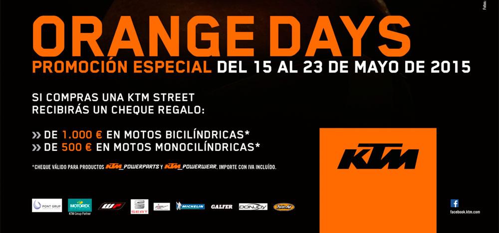 ORANGE DAYS: PROMOCIÓN ESPECIAL DEL 15 AL 23 DE MAYO DE 2015