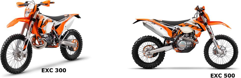 LLEGA LA NUEVA GAMA  KTM EXC 2016