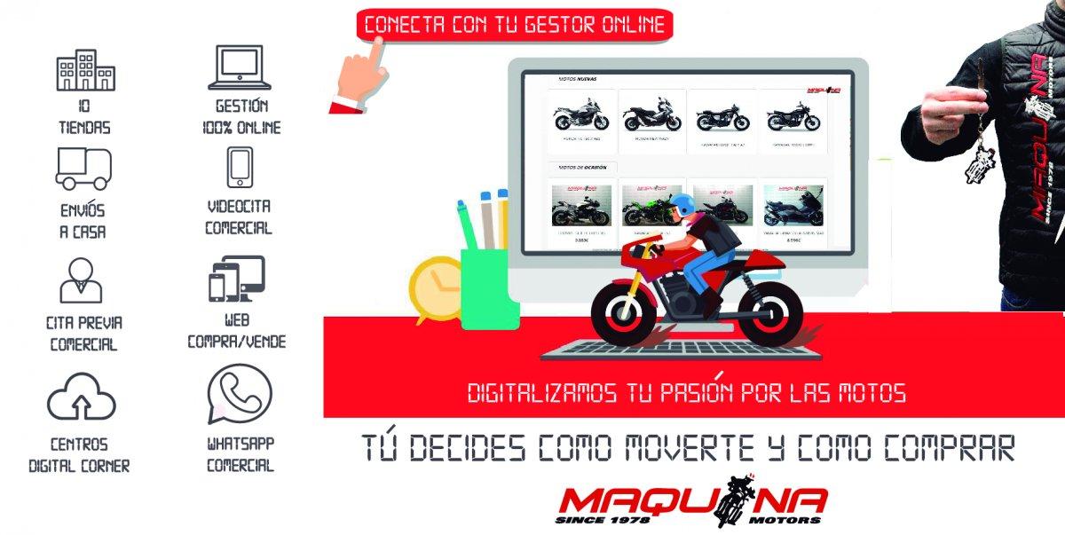 Digitalizamos tu pasión por las motos – ¡Todo lo que necesitas para tu moto desde el salón de tu casa!