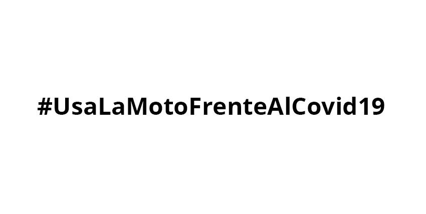 Gracias por usar la moto en tus desplazamientos diarios… #UsaLaMotoFrenteAlCovid19