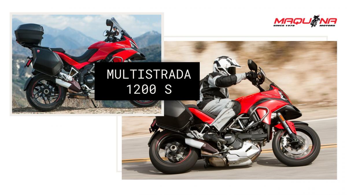Ducati Multistrada 1200 S: Disfruta el multi-camino