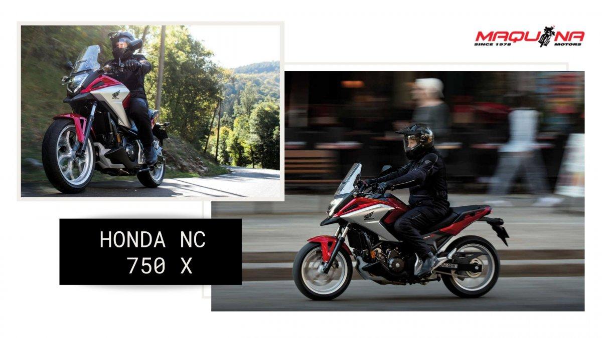 HONDA NC 750 X: Una moto rutera