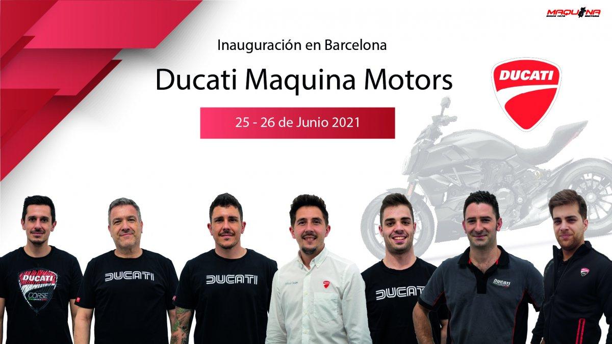 Nueva tienda Ducati en Barcelona
