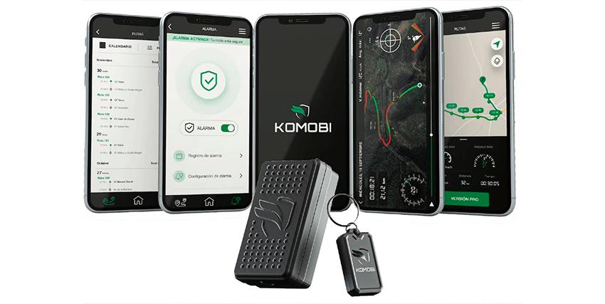 Alarma para moto: Komobi, con localizador GPS