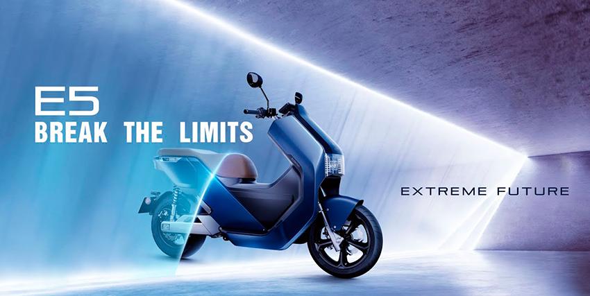 Ecooter E5: movilidad por ciudad con un scooter 100% eléctrico