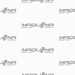 casco maquina integral blanco brillo