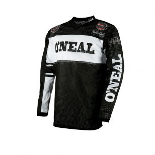 ONEAL ULTRA LITE 75 JERSEY BLACK/WHITE