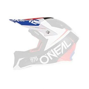 ONEAL<br>SPARE VISOR 10SERIES FLOW BLUE/RED