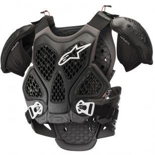 ALPINESTARS<br>BIONIC CHEST PROTECTOR M/L NEGRO/GRIS