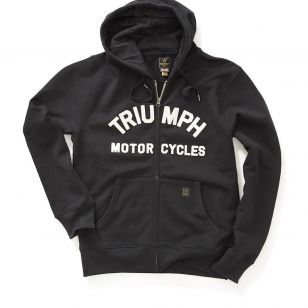TRIUMPH LAVENHAM SWEAT JET BLACK