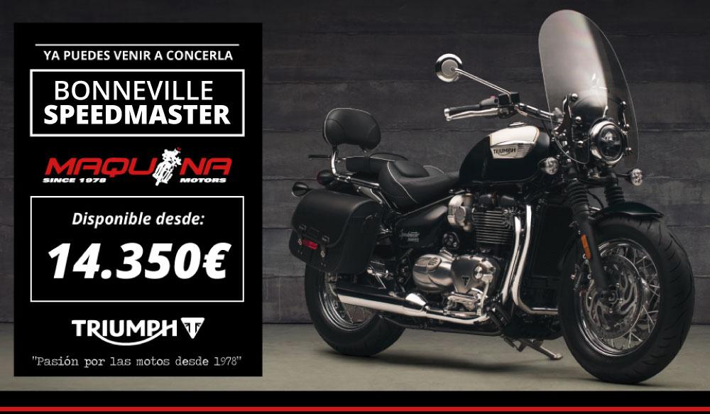 Promoción de Lanzamiento de Triumph Bonneville Speedmaster