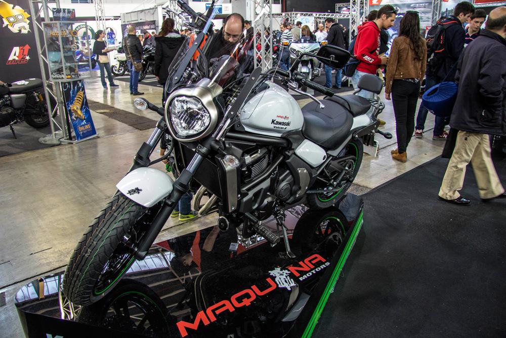 Imágenes salón de la Fira Moto Stand Maquina Motors 2015