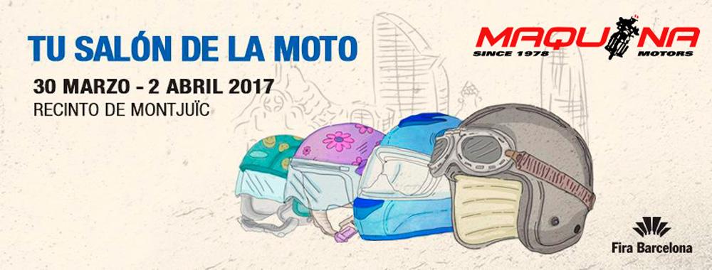 Maquina Motors estará presente en el salón Motoh Barcelona 2017