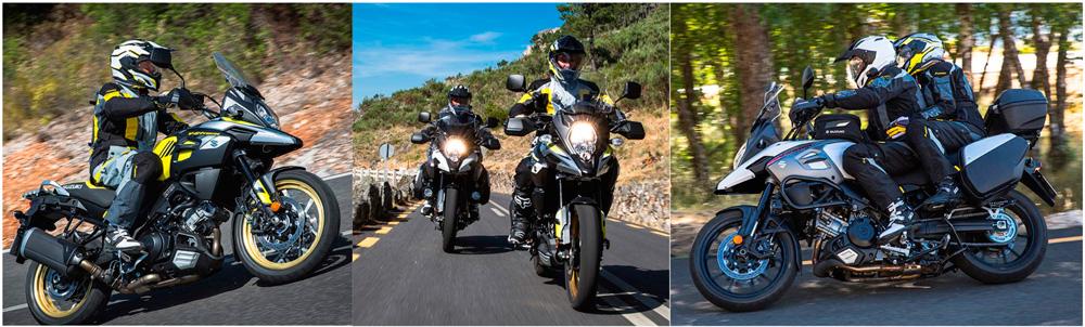 Promoción de lanzamiento de la nueva Suzuki V-Strom 650 y 1000