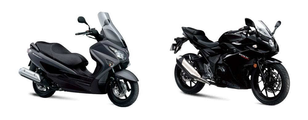 Promociones Suzuki Enero 2018: Burgman, GSXR250 y