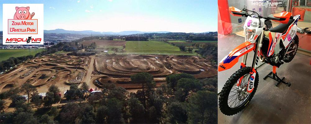 Circuito para motos off-road Ametlla Park