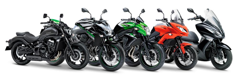 Prueba de motos Kawasaki