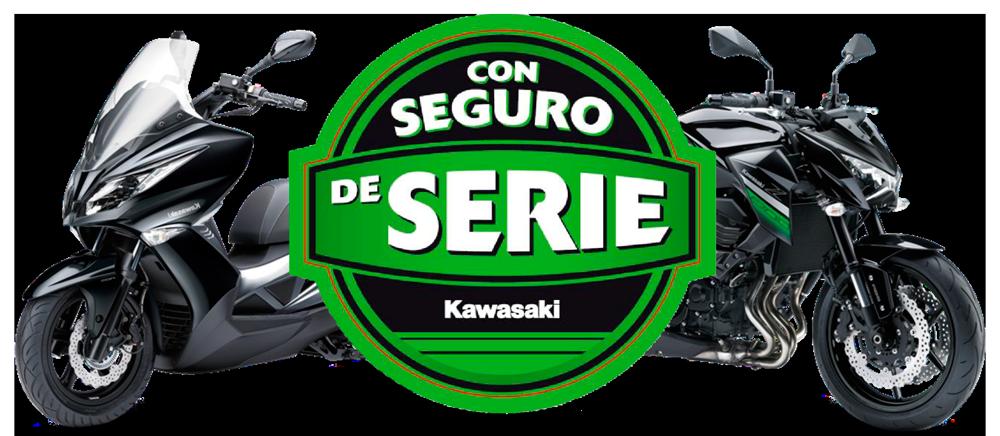 Promoción Seguro Gratis en toda la gama de motocicletas Kawasaki