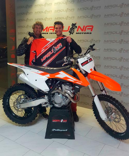 Ramón Brucart ficha por Maquina Motors y KTM