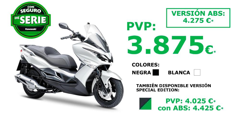 Promoción Seguro Gratis con la nueva Kawasaki J125