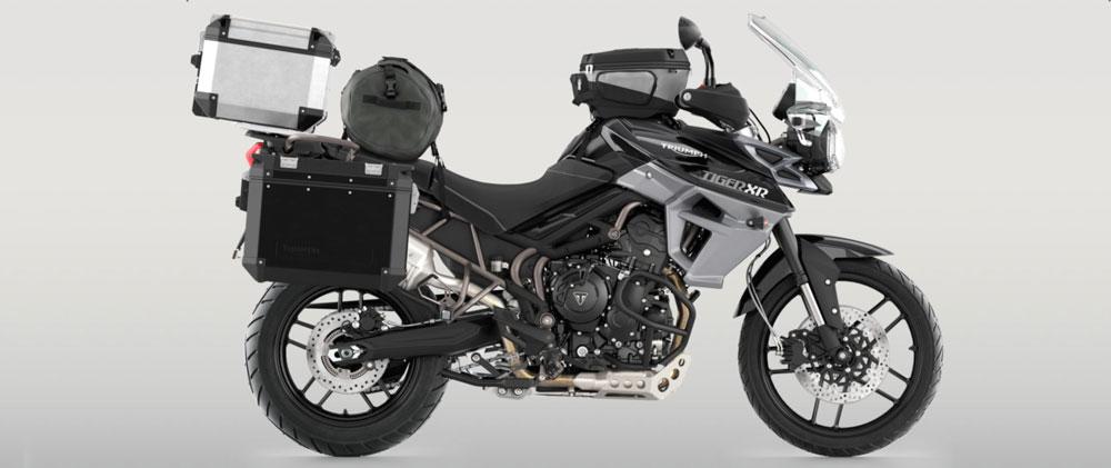 Moto Triumph Tiger 800 XC full equip