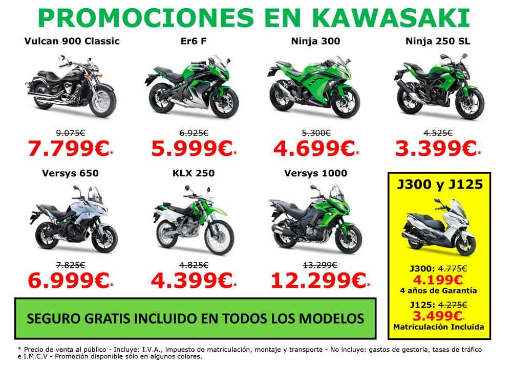 Promociones Kawasaki para este Black Friday