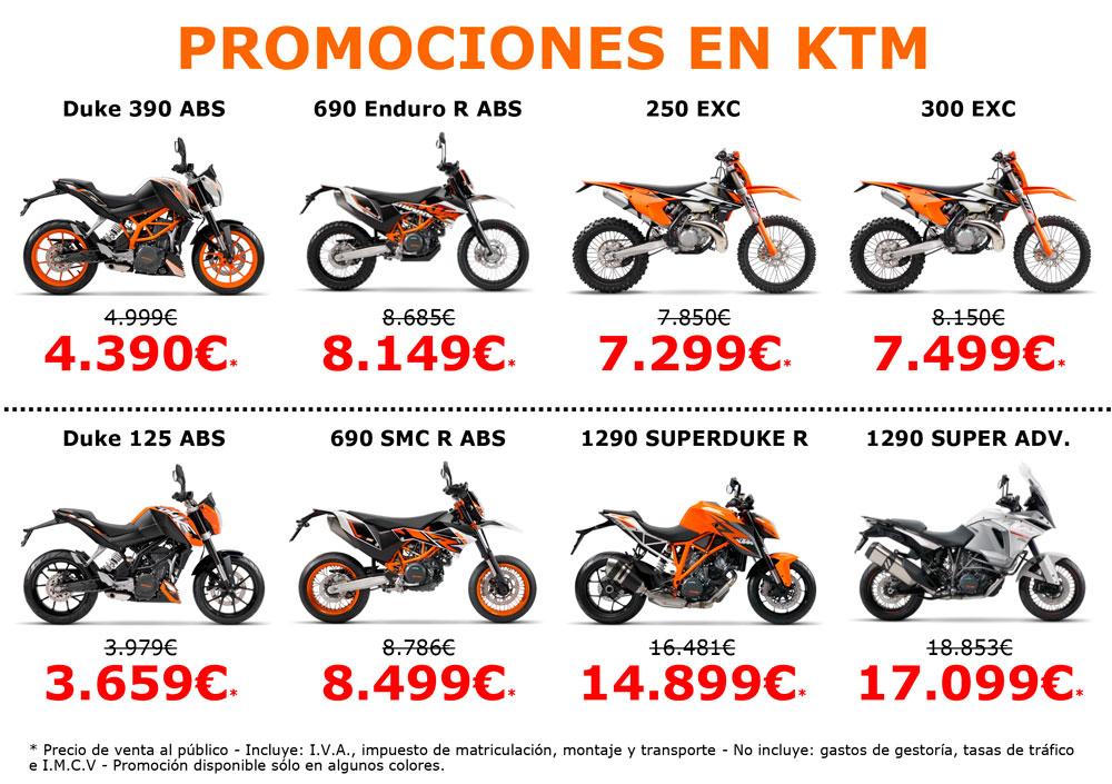 Promociones KTM para el Black Friday 2016