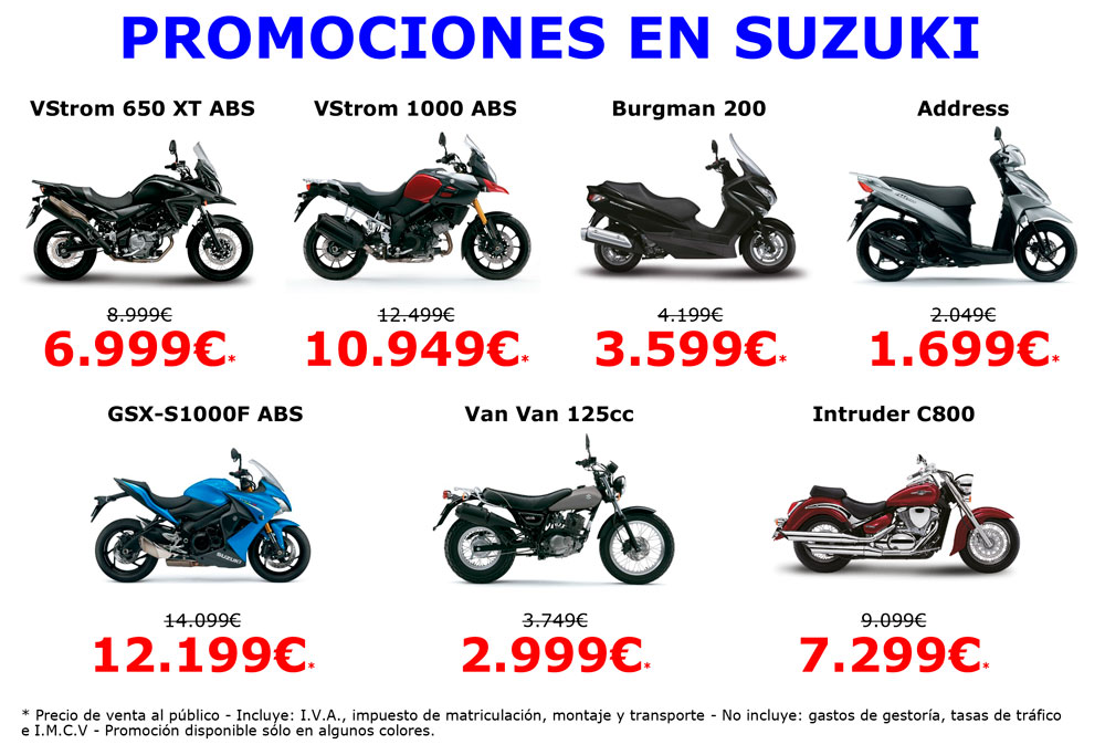Promociones Suzuki para el Black Friday