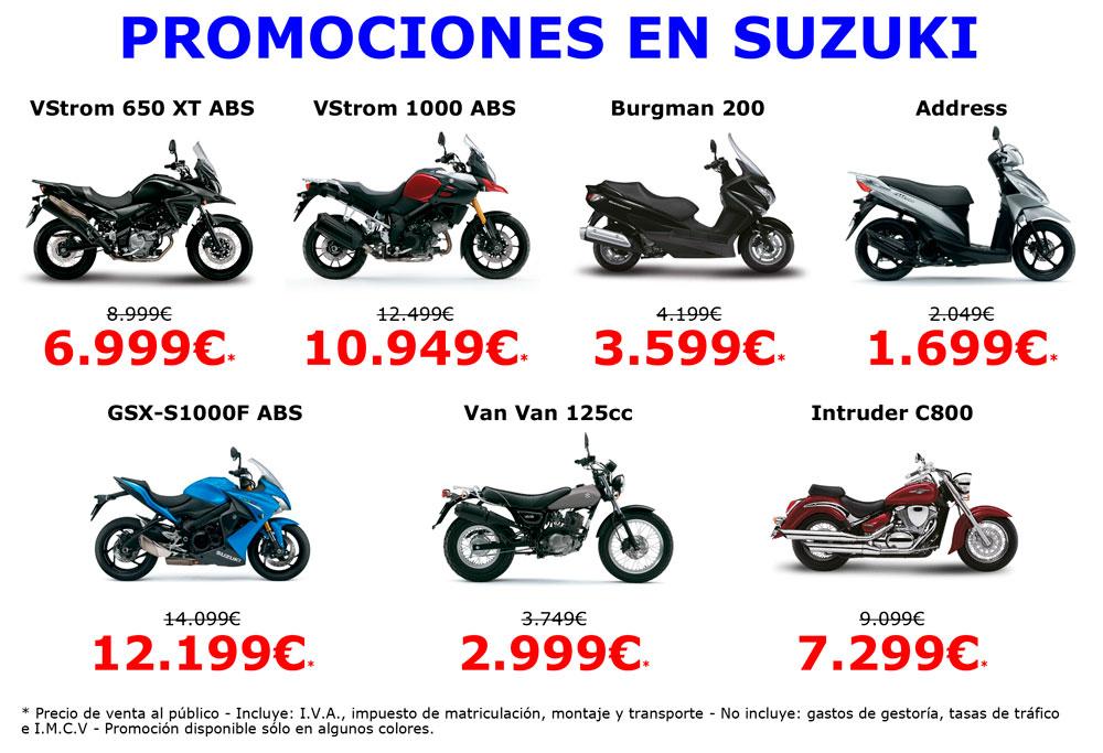 Promociones Suzuki para el Black Friday