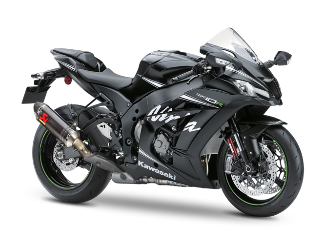 Moto Kawasaki ZX-10R Winter Test