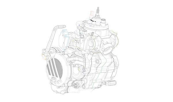 Nuevos motores de 2T inyección en KTM