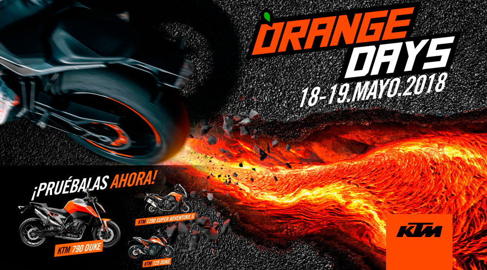 Orange Days 2018 KTM en Maquina Motors Terrassa