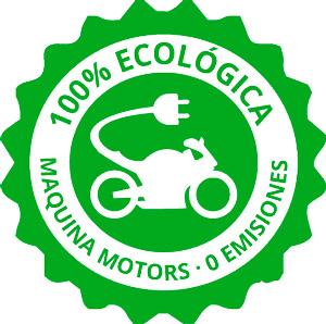 Icono motos verde