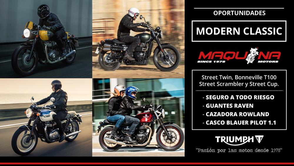 Triumph Modern Classics - Promoción Febrero 2018
