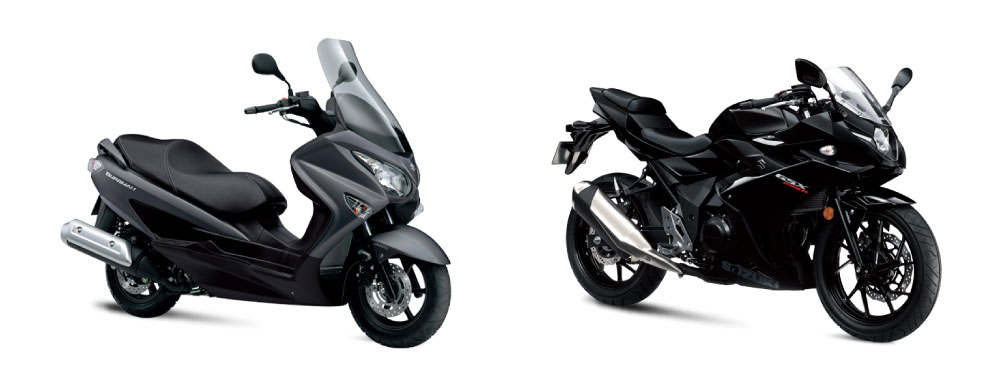 Promociones Suzuki: Burgman 125/200 y GSX250R