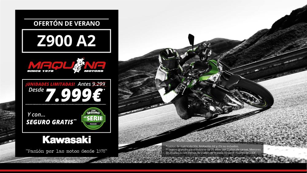 ¡OFERTÓN DE VERANO! Gran Descuento en la Kawasaki Z900 A2