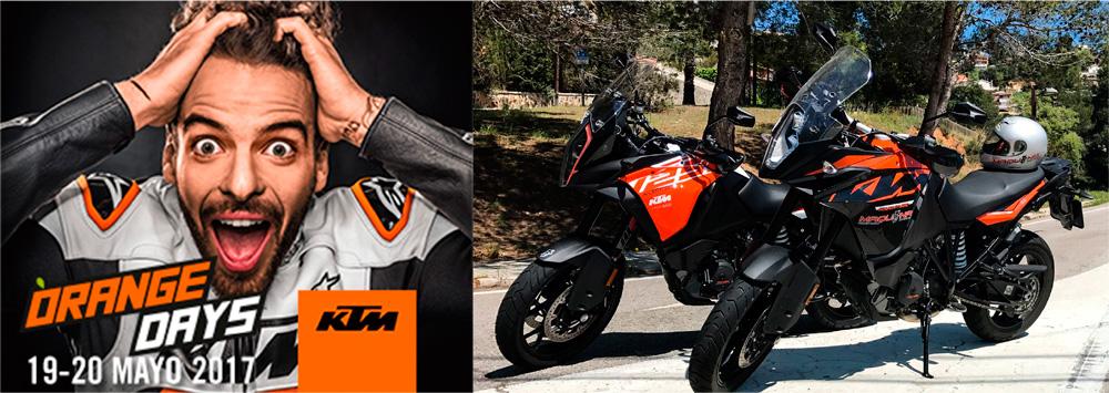Orange Days 2017 KTM - 19 y 20 de Mayo en Maquina Motors Mollet
