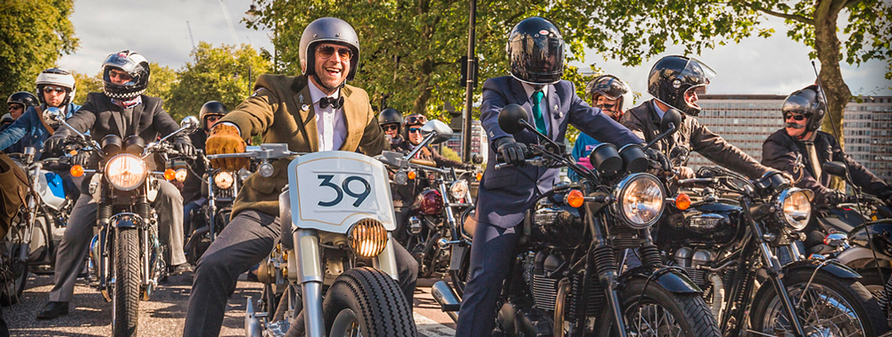 Domingo 25 de Septiembre The Distinguished Gentleman's Ride Barcelona 2016